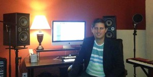 Leoni en su estudio