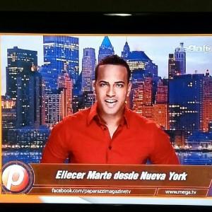 Eliecer es muestra del Poder Latino. Foto megaTV