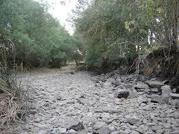 Cauce de rio seco. Foto: flickr