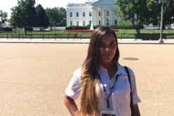 Dafne Parra Briceño cumplió su sueño de ir a Washigton