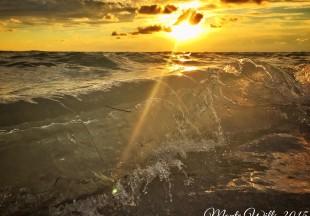 Nuestro maravilloso mar mirado por Monte Wills desde su Iphone6