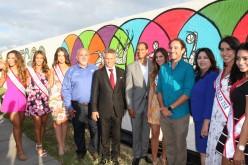ESPN Deportes y la Ciudad de Doral develan mural artístico