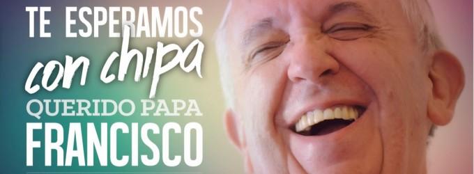 Sudamérica de fiesta por la visita del Papa Francisco