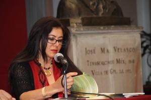 Pilar velez diciendo el poema
