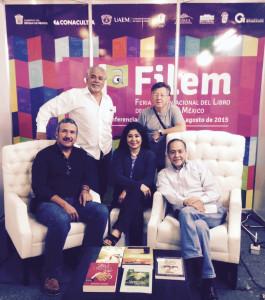 Pilar Velez y autores en Mexico