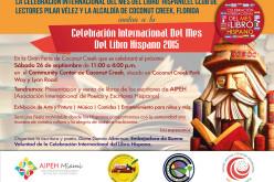 Coconut Creek se une a la Celebración Internacional del Mes del Libro Hispano