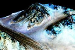 La NASA anuncia agua en Marte