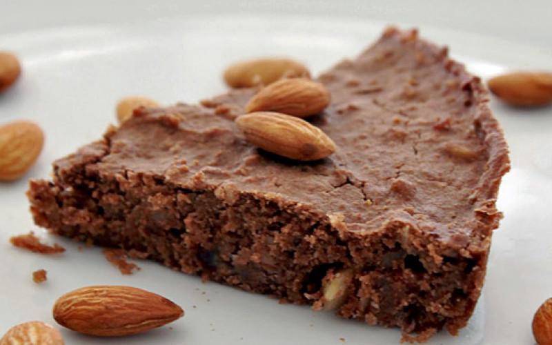 Torta de Chocolate con Almendras