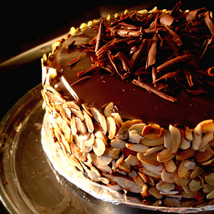 torta chocolate con almendras 2