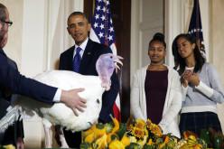 Obama perdona a los pavos Honest y Abe