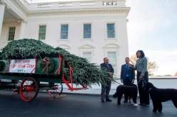 Llegó la Navidad a la Casa Blanca