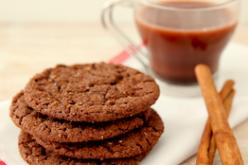 Galletitas Crujientes Mexicanas de Chocolate Caliente y Cocoa Pebble