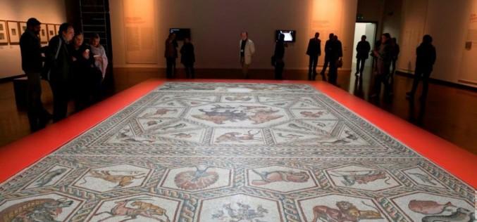 El Mosaico de Lod se exhibirá en la Universidad Internacional de Florida