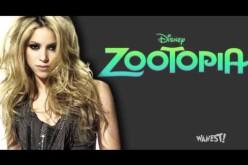 Shakira lanza Try Everything el tema musical de la película Zootopia