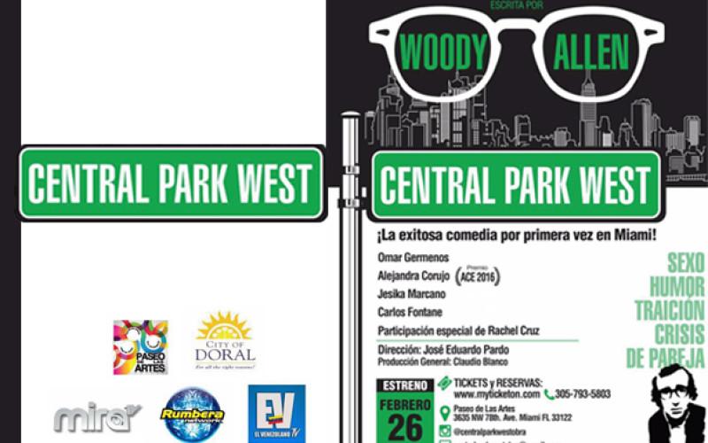 Infidelidad, neurosis y comedia desde Central Park West llega a Miami