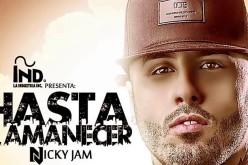 """El talentoso Nicky Jam se quiere quedar contigo """"hasta el amanecer"""""""