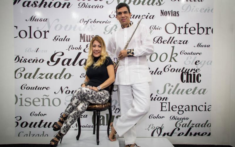 María Moschiano creó el traje que luce Huáscar Barradas en su gira por EE.UU