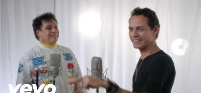 """Juan Gabriel y Marc Anthony unen sus extraordinarias voces en """"Yo te Recuerdo"""". ¡Geniales!"""