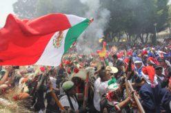 Batalla de Puebla es escenificada en México