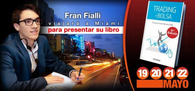 """Fran Fialli presentará su libro """"Trading y Bolsa"""" en Miami"""