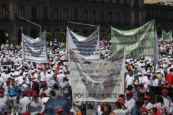 Trabajadores en México demandan mejoras salariales