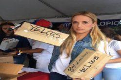 Lilian Tintori recolecta en Miami insumos médicos para Venezuela