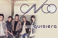 """La banda juvenil CNCO estrena video """"Quisiera"""""""