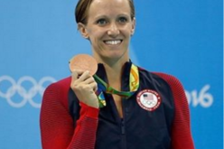 Dana Vollmer: Mamá Olímpica
