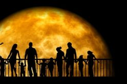 Apreciando la Luna llena