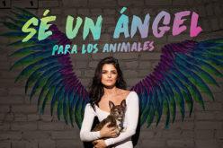 Aislinn Derbez es un ángel para los animales