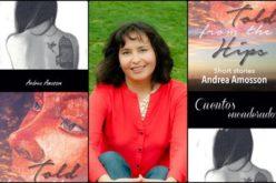 Andrea Amosson reconocida en el Premio Internacional del Libro Latino de EE.UU
