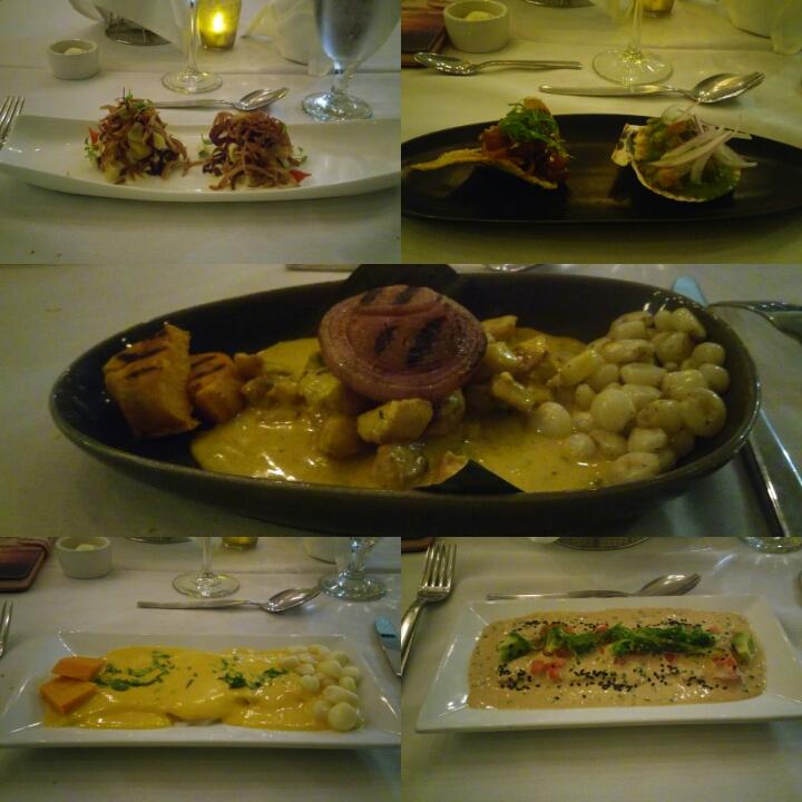 German Gonzales comida