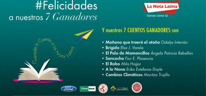La Nota Latina anuncia ganadores de su tercer concurso de cuentos