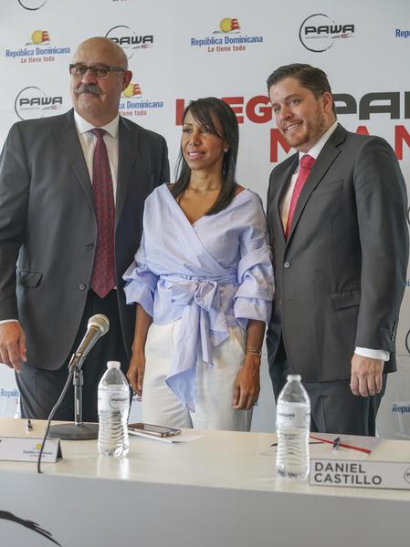 Luis Ramírez, Wendy Justo y Daniel Castillo.