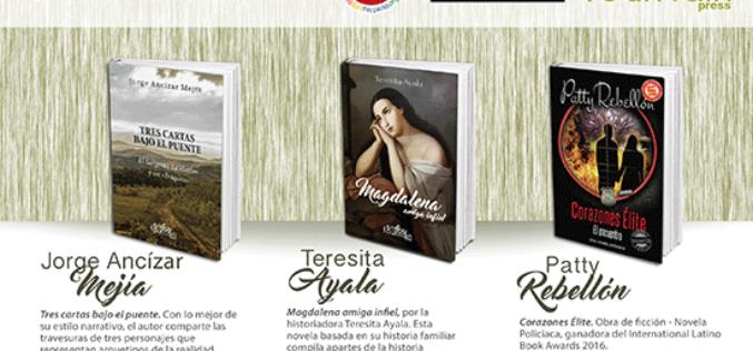 Los escritores Patricia Rebellón, Teresita Ayala y Jorge Ancízar Mejía presentan sus libros en Books & Books