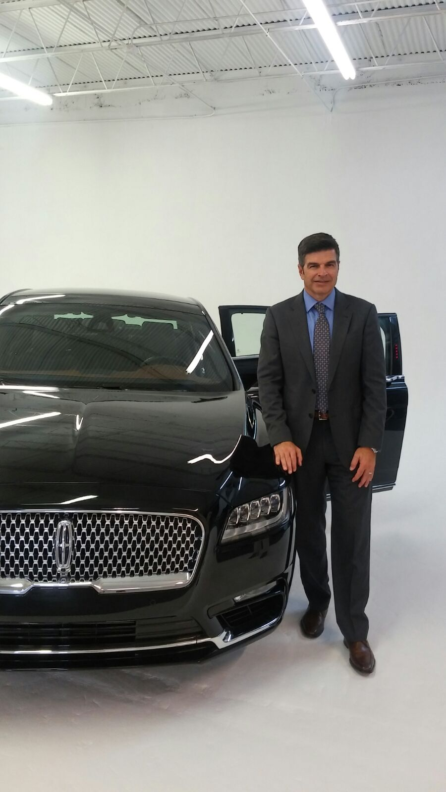 Michael Celentino, Chief Program Engineer Lincoln Continental