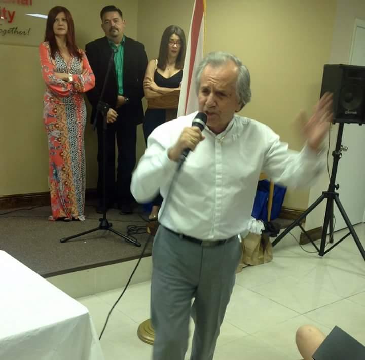 El ganador de la OTI, Fabrizio, realizó como siempre una magistal interpretación.