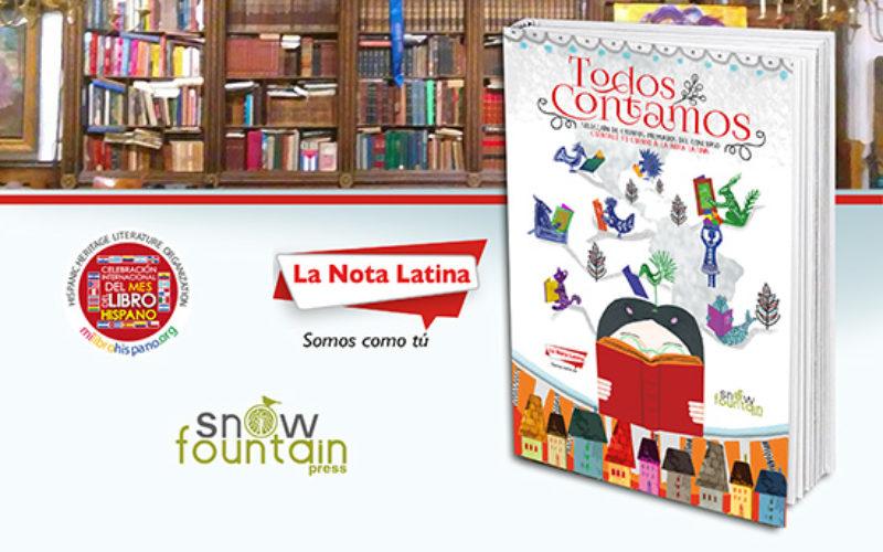 """La Nota Latina e Hispanic Heritage Literature Organization presentan el libro """"Todos Contamos"""""""
