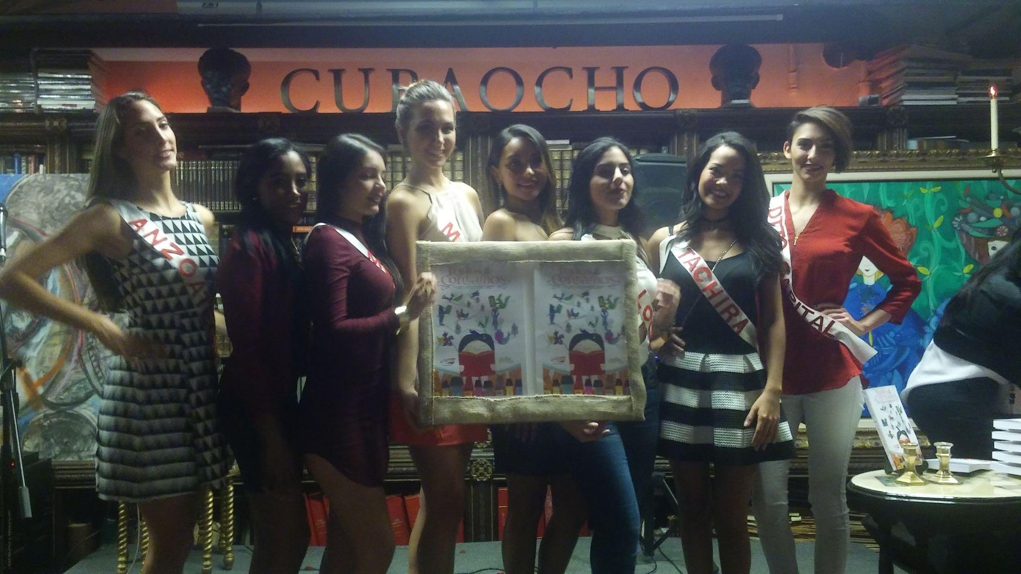 Las candidatas al Mis Venezuela USA, que organiza Leida Álvarez, estuvieron presentes.