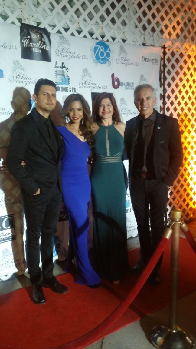 Mauricio Pallares, Wendy Regalao, Marybel Torres y Andy Valiente.