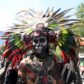 Catrinas y catrines desfilaron por las calles de Ciudad de México