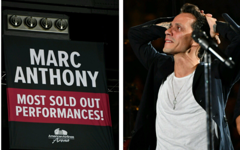 Marc Anthony le regaló a Miami un extraordinario concierto