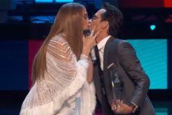Marc Anthony y Jennifer López: ¿El beso de la reconciliación?