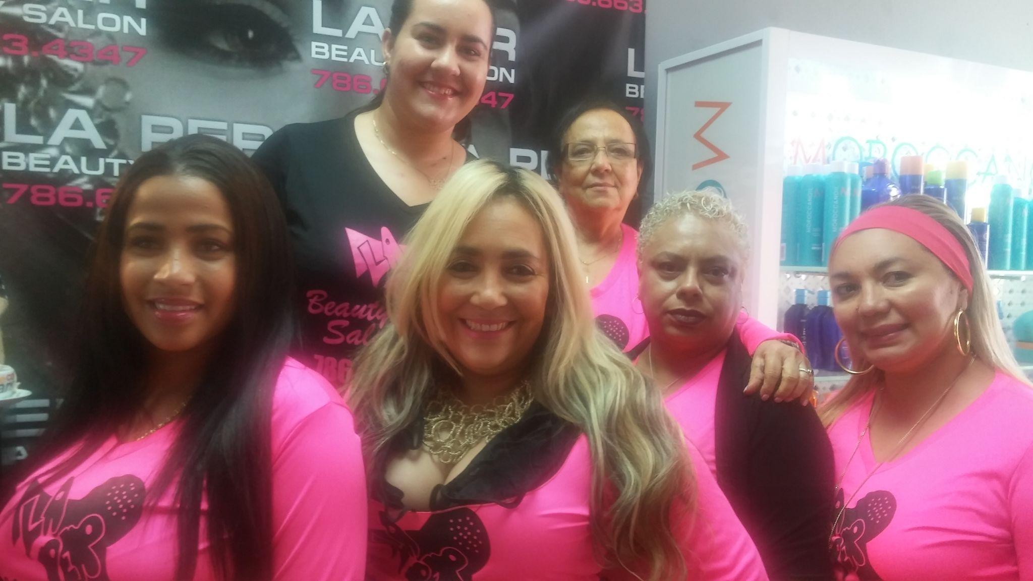 La Per Beauty Salon tiene un equipo de primera.