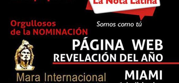 El prestigioso premio Mara Internacional de Venezuela debuta en Miami