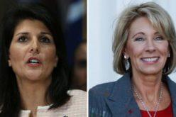 Dos mujeres entran al gabinete de Trump