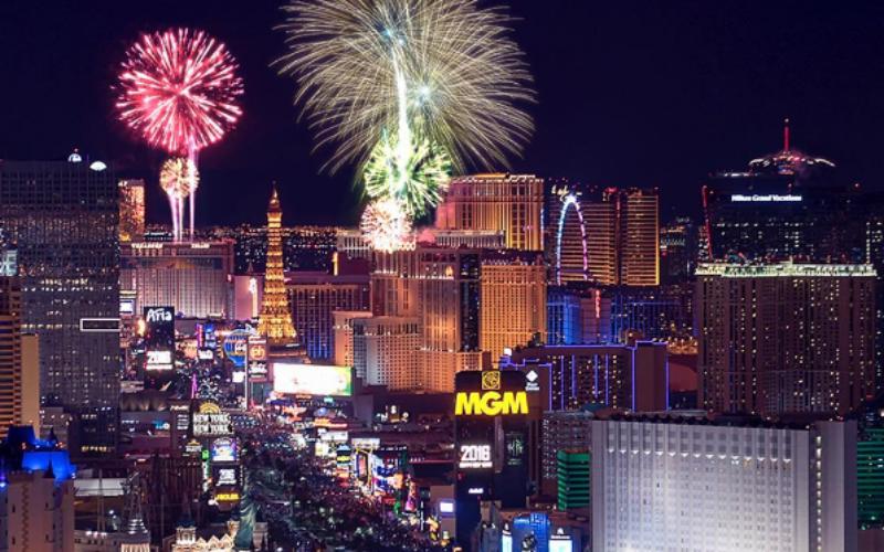 Despedir el año en  La Vegas, la ciudad más rutilante del mundo