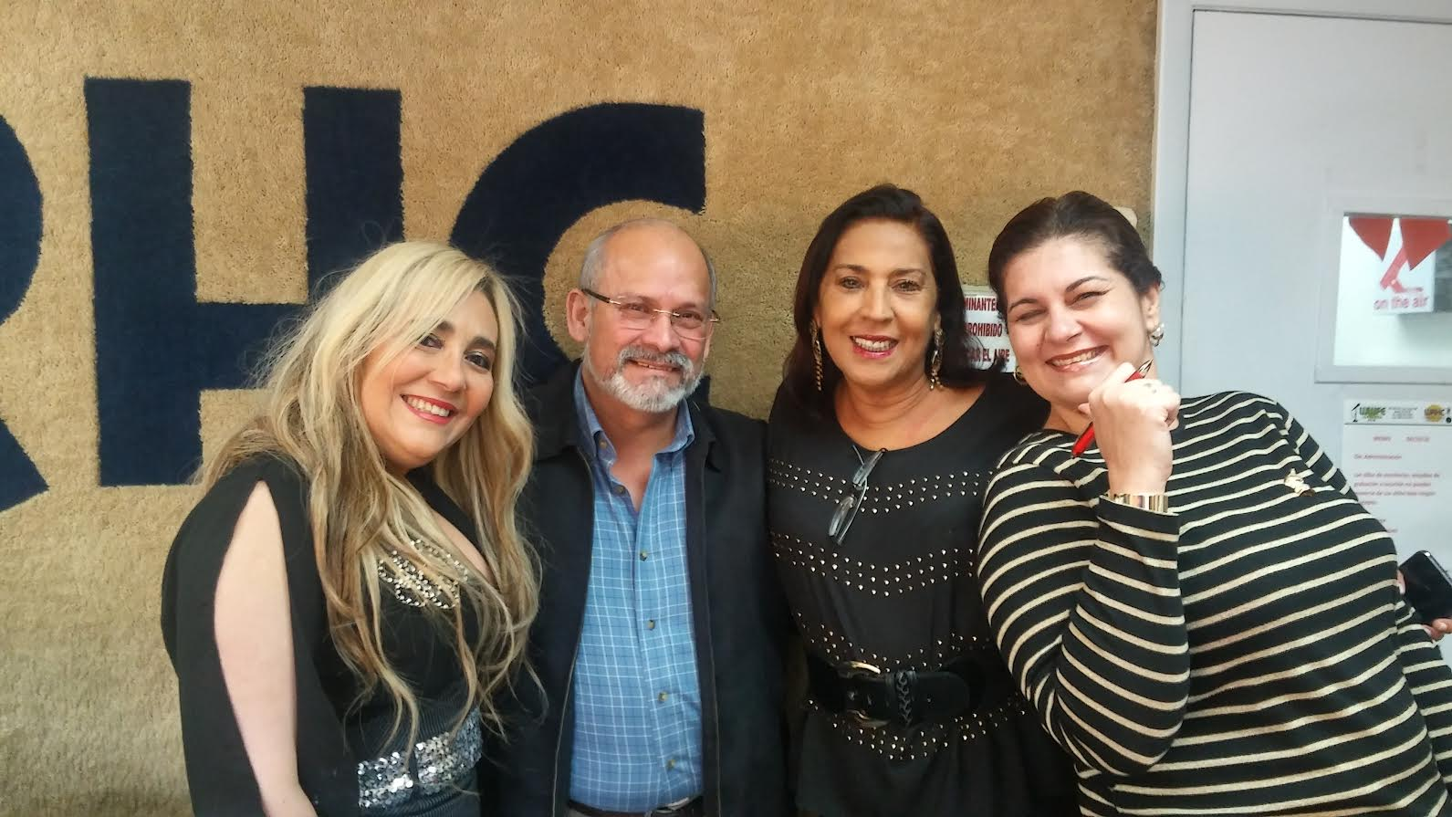Marisol Casola, Jairo Velasquez, Alma Pineda y Mariela Montes.