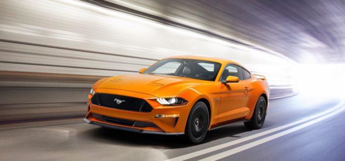 Ford presentó el nuevo y potente Mustang del 2018