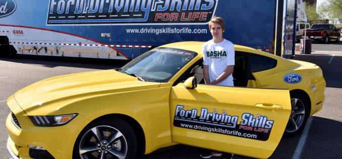 "En febrero tenemos una cita en el ""Ford Driving Skills for Life"""